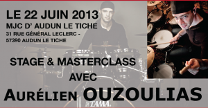 Drum Clinic in Audun Le Tiche